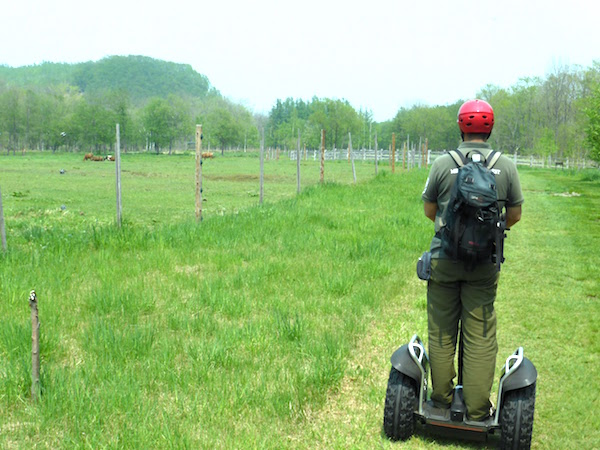 十勝千年の森のセグウェイツアーの楽しみ方(5)
