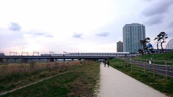 多摩川河川敷2